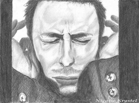 Thom Yorke by krystelyorke